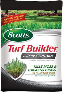 scotts turf builder with moss control - lawnmoweradviser.com